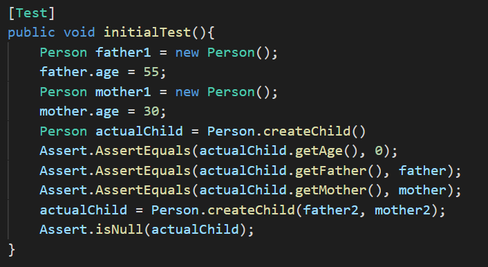 bad test example code 1