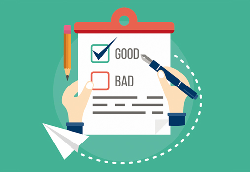 Illustration good vs. bad unit tests